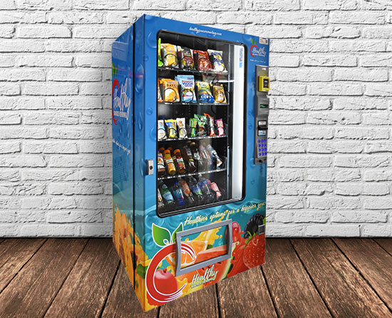 Philadelphia area, Lehigh Valley, New Jersey, and Delaware healthy vending machines