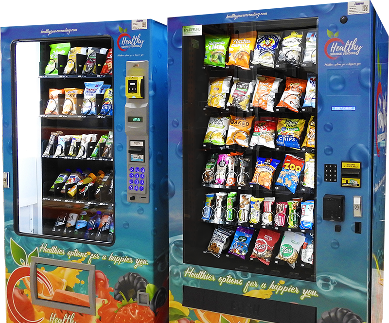 Healthy vending machines in the Philadelphia area, Lehigh Valley, New Jersey, and Delaware